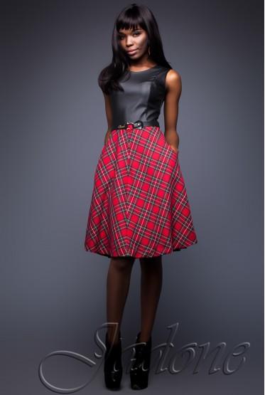 Платье Scotland черный