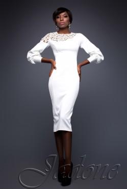 Платье Rozet white
