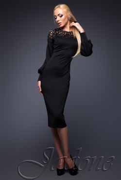 Платье Rozet black