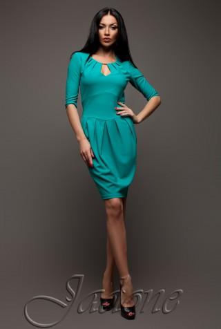 Платье Камерон бирюзовый