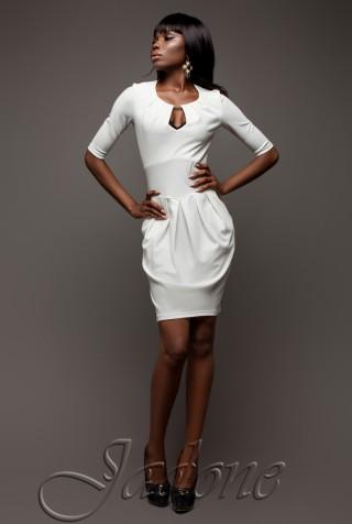 Платье Камерон белый