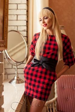 Платье  Marani red