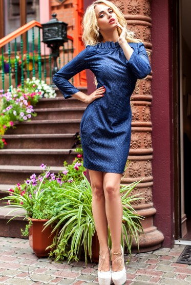 Платье-туника Жордан dark blue