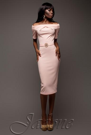 Платье Наоми персиковый