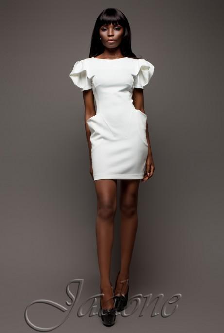 Платье Саланж белый