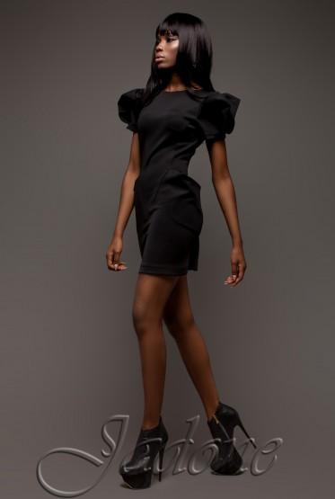 Платье Саланж черный
