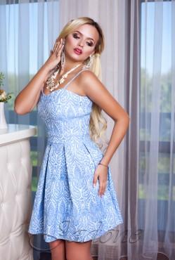 Платье  Bonjour blue