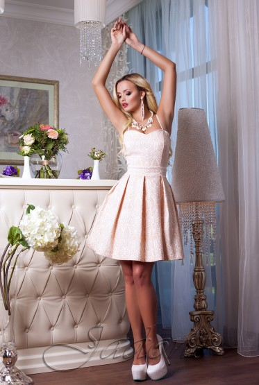 Платье Bonjour бежевый