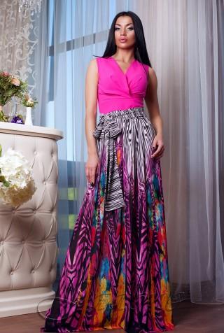 Платье Кармелитта М8  малиновый