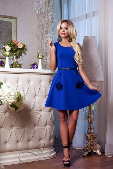 Платье Лолитта электрик