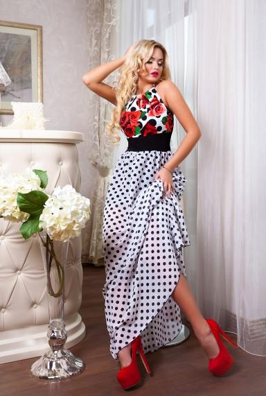 Платье Patricia M-1  комбинированный