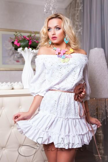 Платье Rose  белый