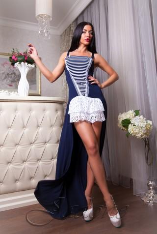 Платье  Santana  комбинированный_2