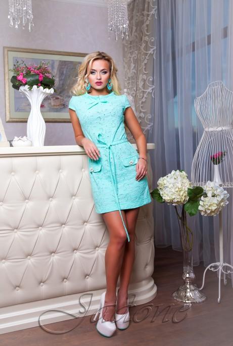 Платье Verona ментол