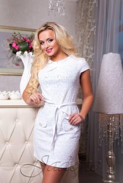 Платье Verona white