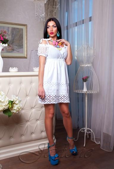 Платье Миледи белый