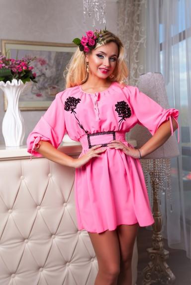 Туника Шарм розовый