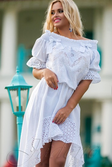 Платье Chloe  белый