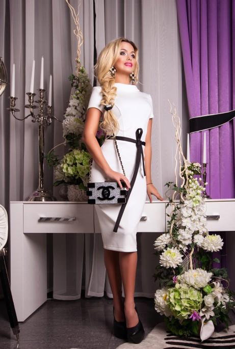 Платье Marrine белый
