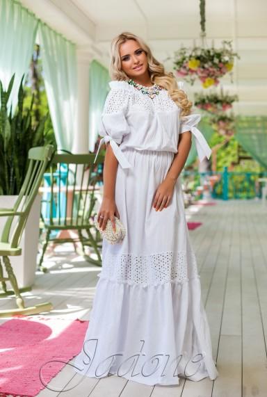 Платье Мадлен белый