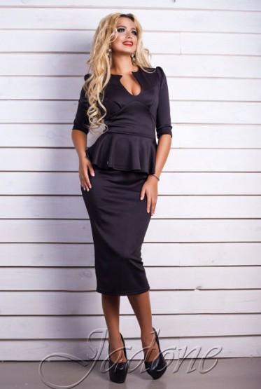 Платье miss Stelly черный