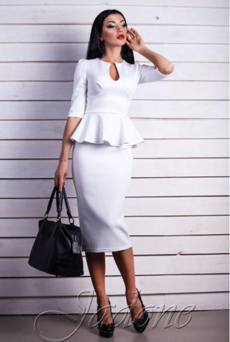 Платье miss Stelly белый