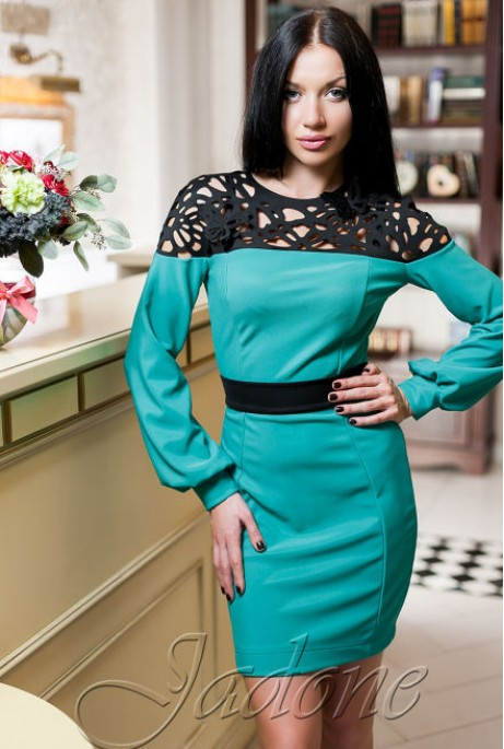 Платье Michelle  бирюзовый