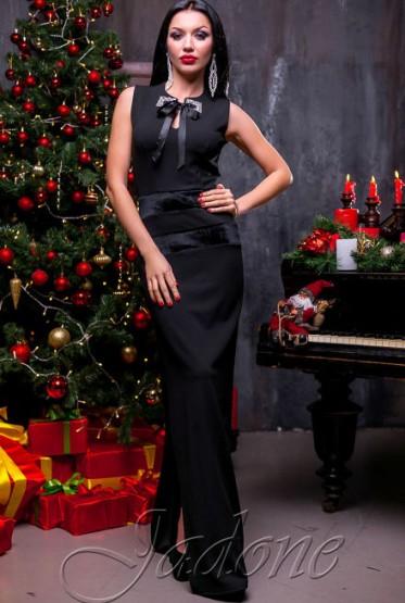 Платье Лангория черный