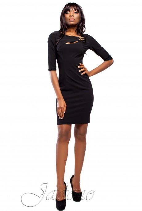 Платье Огния черный