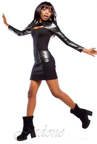 Платье Ренди черный