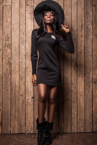 Платье Марсо черный
