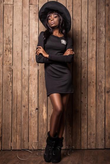 Платье Марсо black