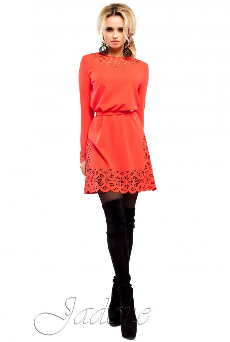 Платье Фарина красный