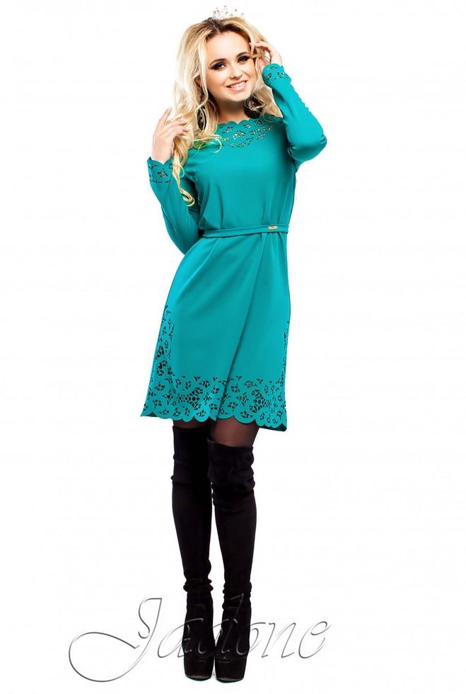 Платье Фарина бирюзовый