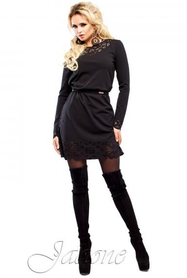 Платье Фарина черный