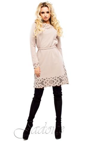 Платье Фарина бежевый