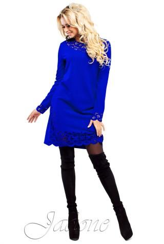 Платье Фарина электрик