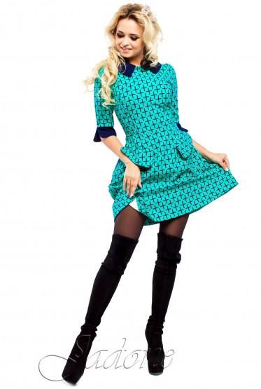 Платье Поларис бирюзовый