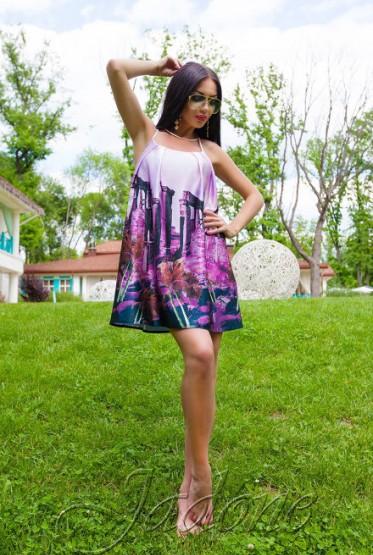Платье Миранда сиреневый