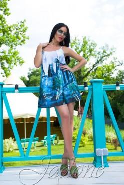 Платье Miranda blue