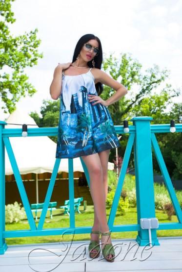 Платье Миранда голубой