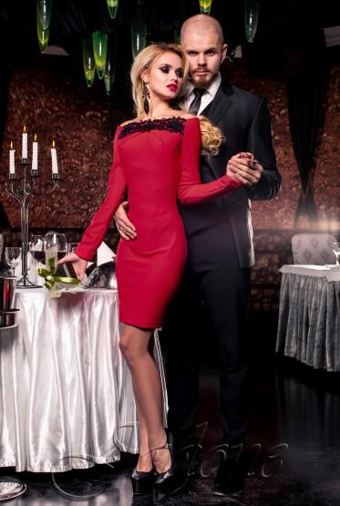 Платье Ирен красный