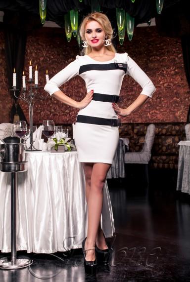 Платье Жаклин молочный