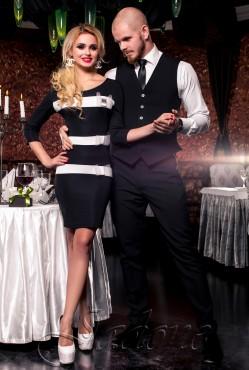 Платье Жаклин black