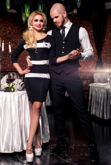 Платье Жаклин черный