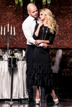 Платье Хилари black