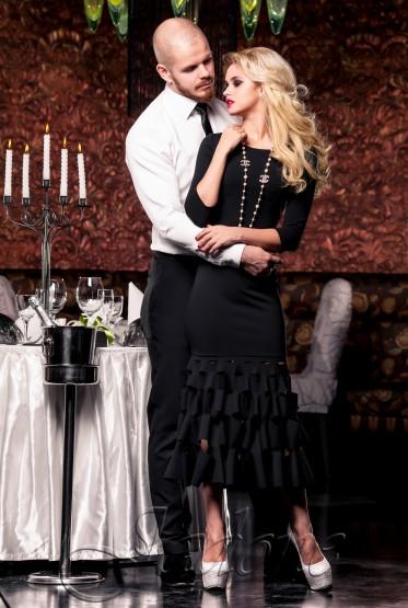 Платье Хилари черный