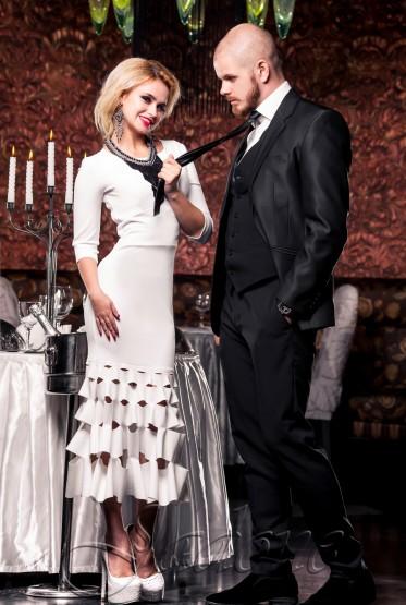 Платье Хилари молочный