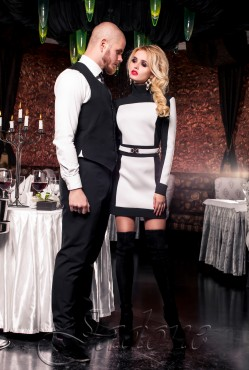 Платье-туника Скайфолл white
