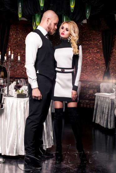 Платье-туника Скайфолл белый